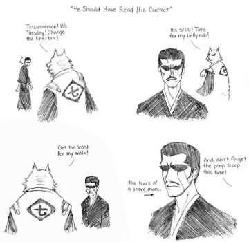 BLEACH Comic Relief 14 by one-of-the-Clayr