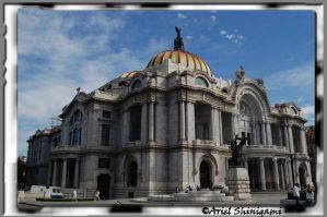 El Palacio de Bellas Artes by arielshinigami
