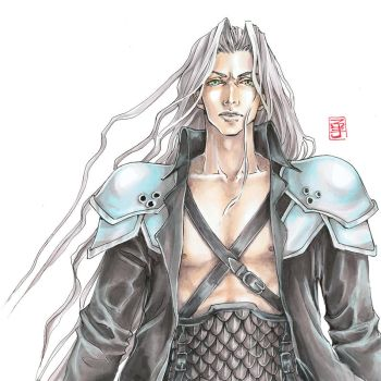 Another Sephiroth by raspberryMCMLXXXIV