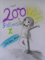 Over 200!! THANK YOU!! by JoshGarciaArtworks
