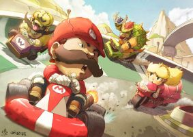 Karting with Spirit by theCHAMBA