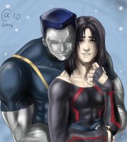 Ultimate Colossus x Northstar by Autumn-Sacura