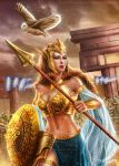 Athena the goddess of wisdom and war by DyanaWang