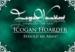 Ico Fun: Proud Icogan Hoarder by SweetLittleVampire