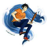 Percy Jackson by Riding-Lights
