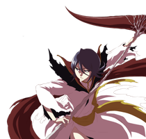 Dark rukia Colored by Musashi2011