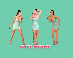 katy perry simple green wallpaper by dabbex30