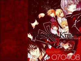 Vampire Knight Anime Wallpaper by hiyukiri