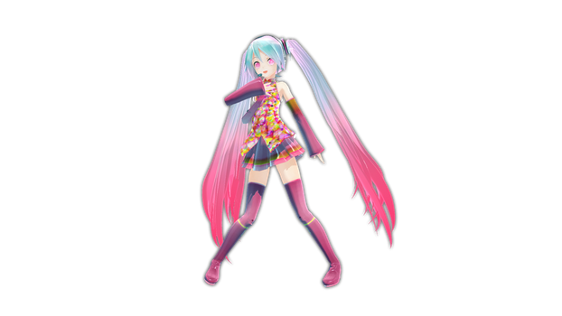 Appearance Tell Your World Miku by Myth-P