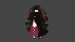 Azami (Mekaku City Actors) Minimalist Wallpaper by greenmapple17