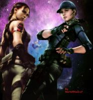 RE5 - Jill an Sheva Chronicles by Sephirothic7