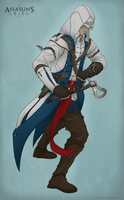 Connor Kenway by SilverSkittle