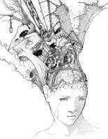 Inside your head. by lightchaser