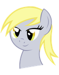 (vectored) derpy expression (bedroom eyes ) by kuren247