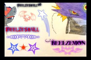 Beelzeskull and Beelzemon by Beelzeskull06