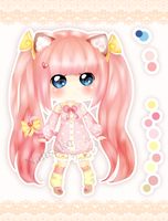 [CLOSED] Cute Nekomimi Adoptable [AUCTION] by naitsuko