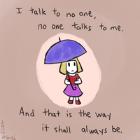 No One and Me by anna-mei