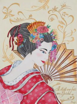 Geisha Girl by idecodart