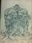 THE INCREDIBLE HULK by Emmanuelfield