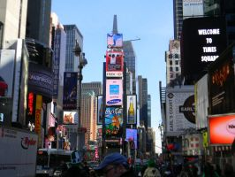 Times Square by hcisme123