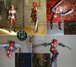 Rayne custom action figure by braithrean