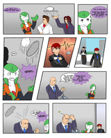Tea Party Comic p1 by Predhead