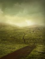 Manipulated: Mountain path by DebauchedSeductress