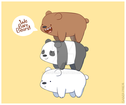 We Bare Bears! by ezpups
