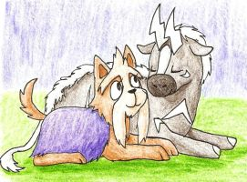 Molly and Duplicy by jsunny