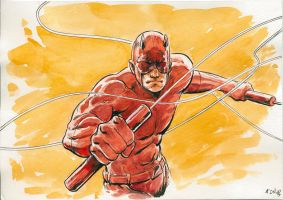 Daredevil once more by Nicolas-Demare