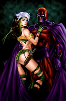Magneto Rogue Commish by sean-izaakse