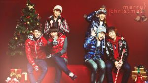 Xmas with 2PM by kimbopeep
