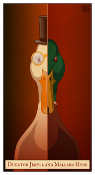 069: Ducktor Jekyll and Mallard Hyde by dunwich7