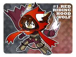 FairyTale adopt 1. Red RidingHood Wolf [ CLOSED ] by Acusta