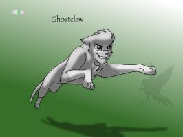 Reference Sheet - Ghostclaw by Ebonycloud-Graphics