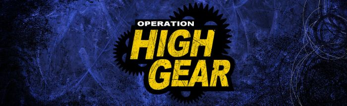 Operation High Gear Title Slide by graph-man
