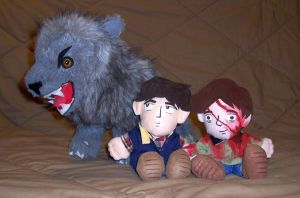 An American Werewolf in London by D-W-Junebug