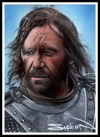 The Hound by RandySiplon