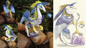 Iwabon Dragon Commission! - SOLD by SonsationalCreations