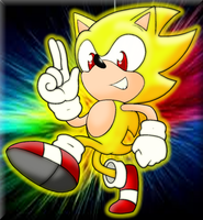 Old Super Sonic by Mephilez