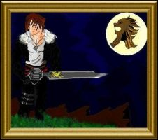 Squall LeonHeart by WillOTheWhisp
