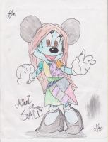 Minnie Mouse as SALLY by Art--Pixie