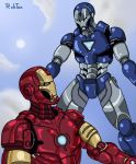 Ironman vs Ironman DIO by rubtox