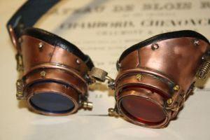 Goggles  metal 3D by Marseau