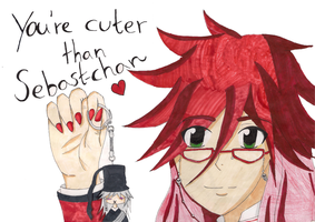 Grell and little Undertaker by Zwei-tan