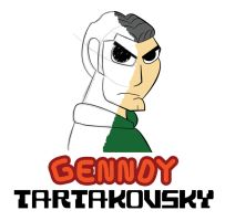 Genndy Tartakovsky Logo: The Great CN Master by mickeyelric11