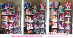 My Little Pony plushie collection so far (16.9.13) by moggymawee