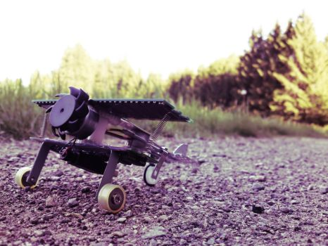 Robot plane by Abios77