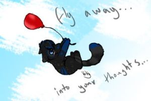 Fly Away... Into Your Thoughts... by MUDDii