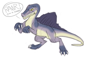 RAWR Dino by Nightrizer